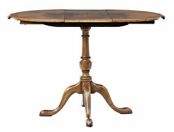 Small Early 20th Century Walnut Occasional Extending Table