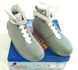Official Back To The Future Universal Light Up Air Mag Shoes Adult Size 14 Us