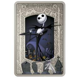 Niue 2021 - The Nightmare Before Christmas - Jack Skellington - 2 Silver Coin.