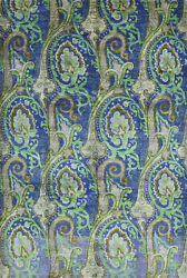 Modern Suzani Ziegler Rug 6and039x9and039 Blue/green Hand-knotted Wool Pile