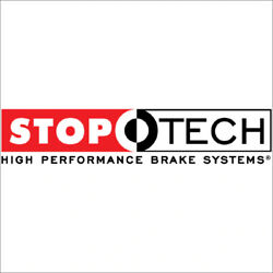 Stop Tech 82.242.0041.71 Big Brake Kit Red Caliper Slotted One-piece Rotor New