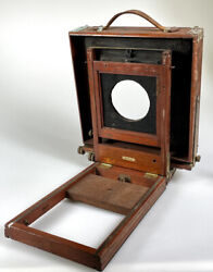 Century View Camera 8x10 Wood Camera With Extension Rail