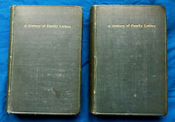 Emma Darwin, Wife Of Charles Darwin A Century Of Family Letters. In Two Volumes