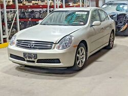 2006 Infiniti G35 Oem Transmission Assembly With 44,758 Miles V6 3.5l Automatic