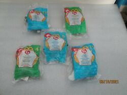 Mcdonaldand039s Ty Beanie Collection Rare Five 5 Sealed/unopened 1999/2000