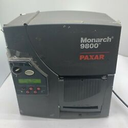 Avery Dennison Monarch Paxar 9850 Label Printer With Ethernet Connection