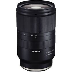 New Tamron 28-75mm F2.8 Di Iii Rxd A036 Full Frame Zoom Lens Sony E Mount A7 A1