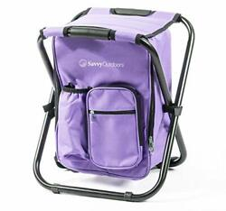 Ultralight Backpack Cooler Chair Compact Lightweight and Portable Folding S... $65.26