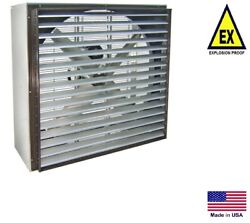 Exhaust Fan Industrial - Explosion Proof - 30 - 208-230/460v - 3 Ph 11,100 Cfm