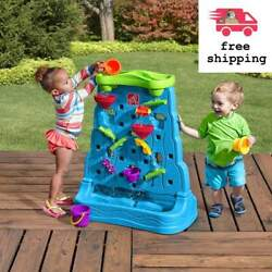 Step2 Waterfall Discovery Wall Kids Water Play Activity Toy