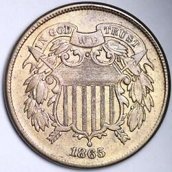 1865 Two Cent Penny Choice Unc Free Shipping E152 Khe