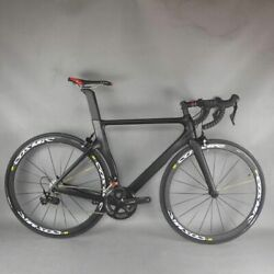 Complete Road Carbon Bike Frame Groupset Shi R7000 22 Speed Bicycle Complete