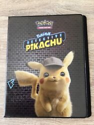 Super Rare Detective Pikachu Movie Pokemon Full Set Of 34 Cards And Extras