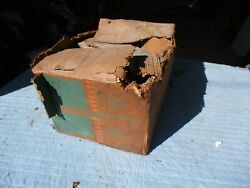 Nos 1958 Chevy Belair Biscayne Del Ray Heater Core Box Blower Motor Controls