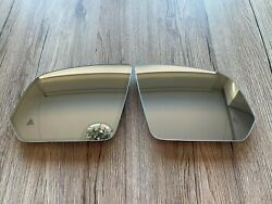 Mercedes V Class W447 W640 Oem Mirror Glass Set Lh And Rh Dimming And Heating + Zone
