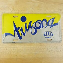 Vtg Arizona Chevy Big Block License Plate Cover Muscle Car Truck Accessory