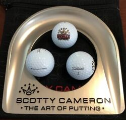 Scotty Cameron Putting Cup Kit 7 Point Crown Gold Mardi Gras Release