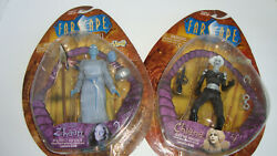 2 New Farscape Series 1 Chiana Armed And Dangerous Zhaan Healer Action Figure Lot