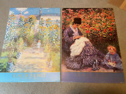 Monet Prints 2 Camille Monet Child And The Artist's Garden At Vetheuil 1986