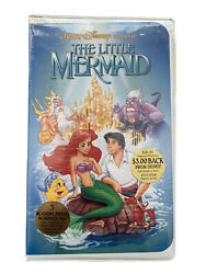 The Little Mermaid Vhs - Banned Art - Diamond Collection - Sealed