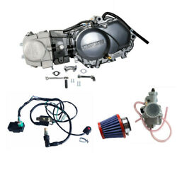 125cc Dirt Bike Engine Motor Complete Kit Wire For Honda Xr50 Crf50 Coolster