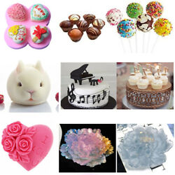 Silicone Bakeware Mould Chocolate Baking Cake Mold Chocolate Decorating Tools