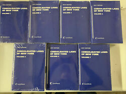 2019 Consolidated Laws Of New York Volumes 1-7