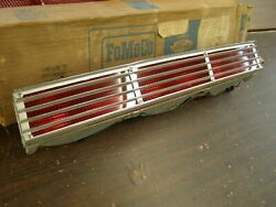 Nos Oem Ford 1966 Lincoln Continental Tail Light Lamp Lens Assembly Lh Bezel