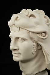 Large Marble Bust Of Mithridates The Great Classical Sculpture. Art Gift.