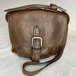 'Stickman' Unique Leather Messenger Purse $129.00