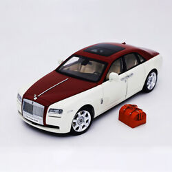 118 Scale Rolls-royce Ghost Diecast Car Model Limited Collection By Kyosho