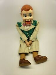 Paul Winchell Jerry Mahoney Ventriloquist Dummy Puppet Doll Vintage 1950and039s