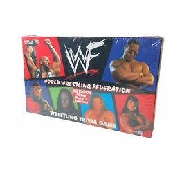 1998 Wwf Trivia Board Game Factory Sealed - The Rock - Stone Cold