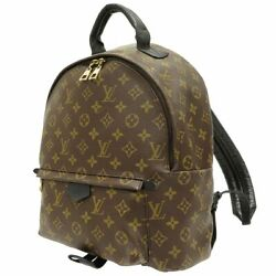 Louis Vuitton M44874 Back Pack Day Bag Palm Springs Brown Monogram Used