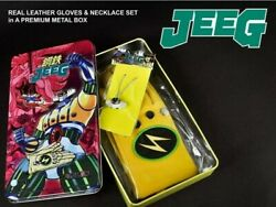 Jeeg Robot Dand039acciaio Metal Box Guanti Hiroshi And Collana Gloves And Necklace Hl Pro