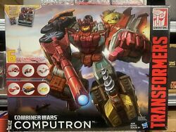 Transformers Combiner Wars 2015 Cw Computron 6 In 1 Mint In Sealed Box Toy New