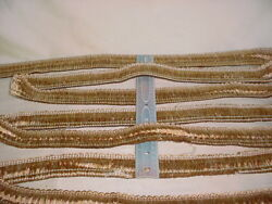 15-1/2 Decopro 0150ib Imperial Collection Copper Platinum Fringe Upholstery Trim
