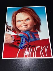 Brad Dourif - Child's Play - Chucky Hand Signed 8x10 Color Photo W/proof