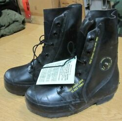 New 9r- 8r U.s. Military Mickey Mouse Extreme Cold Temperature Boots Bata Unused