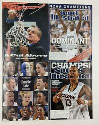 Uconn 1999 And 2014 Ncaa Championship Sports Illustrated And Hartford Courant