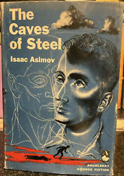 The Caves Of Steel 1954 1st Book Club Edition By Isaac Asimov Doubleday