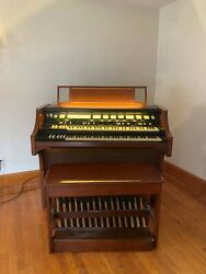 Used Hammond Organ Model H-111 - Good Condition 120 Volts Ac 60 Cycles 3.1 Amps