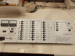 Ac/dc Electrical Panel For Catalina Sailboat Marine Wht/blk Pb3079 29.25 X 8