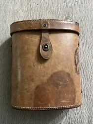 Vintage 1947 Military Binoculars Carry Case D-43813 For M44