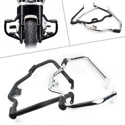 Mustache Safety Engine Guard Highway Crash Bar For Harley Softail Fat Bob Deluxe