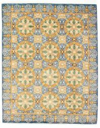 Modern Hand-knotted Carpet 9and0392 X 11and0395 Oriental Wool Area Rug