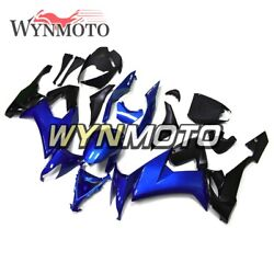 Motorcycle Abs Plastic Blue Black Fairings For Zx10r 2008 2009 2010 Zx-10r 08 09