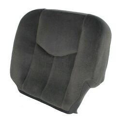 Driver Side Bottom Cloth Seat Cover Gray For 2003-2007 Gmc Sierra 1500 2500 3500