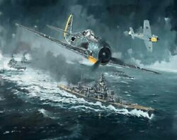 World War 2 German Aircrafts The Channel Dash Painting Paint By Numbers Kit Diy