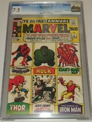Marvel Tales 1 Cgc 7.5 Off White To White Pages Rocky Mountain Pedigree Sa